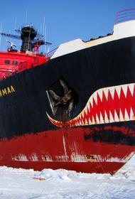 Атомный ледокол «Ямал» впервые в этом году сопроводил вдоль Севморпути газовый танкер в восточном направлении
