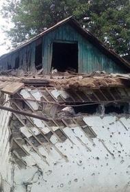 ВСУ обстреливают посёлок Золотое-5 в Луганской народной республике