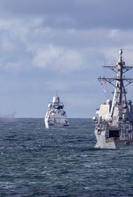 Военный аналитик Перенджиев: вслед за эсминцем Defender границу России могут одновременно нарушить три боевых корабля НАТО