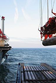 На прокладке нитки «А» газопровода «Северный поток 2» осталось около 16 км до вхождения в воды Германии