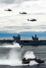 НАТО подняло в небо боевую авиацию из-за приближения истребителей России к району нахождения HMS Queen Elizabeth в Средиземноморье