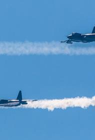 Business Insider: авиация России отработала учебное бомбометание недалеко от кораблей НАТО, задействованных в Sea Breeze 2021