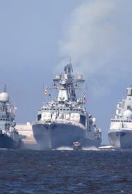 На военных учениях в Средиземном море Россия отрабатывает нанесение ударов по кораблям и группировкам противника