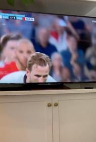 Многие вип-персоны пришли вчера на стадион «Уэмбли» поддержать сборную Англии в полуфинале Евро
