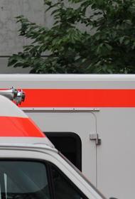 На месте крушения самолета в Швеции начался пожар, есть погибшие