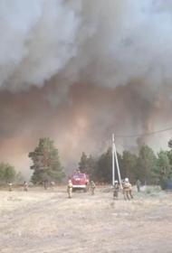Огонь продолжает наступать, стремительно растет площадь пожаров в Челябинской области
