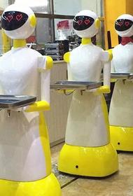 Из-за пандемии на Западе начали ещё активнее замещать официантов роботами
