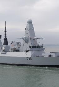 Британский эсминец Дефендер вместо того, чтобы вернуться в состав авианесущей группы ушёл к Гибралтару