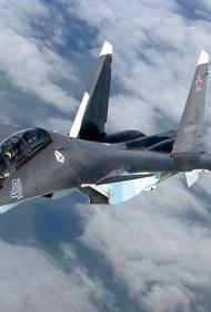 Российский Су-30 сопроводил самолёт-разведчик ВВС США над Черным морем