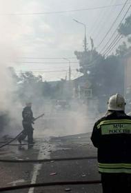 В МЧС сообщили, что из гостиницы в Геленджике после взрыва эвакуировали 50 человек