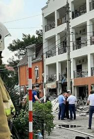 Количество пострадавших при взрыве газа в гостинице в Геленджике увеличилось до пяти