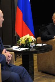 В Санкт-Петербурге президенты Путин и Лукашенко затронули тему увеличения присутствия НАТО на Украине