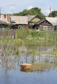 Паводок подтопил дороги в Хабаровском крае