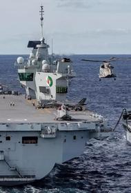 Кругосветный поход британского авианосца «Квин Элизабет», возможно, не состоится из-за коронавируса
