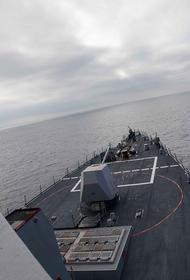 Ракетный эсминец США Roosevelt появился недалеко от берегов российского Кольского полуострова