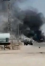 В Сирии американские военные уничтожили гражданский продовольственный грузовик