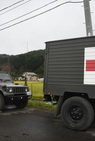 Kyodo сообщило об увеличении числа жертв оползня в Японии до 15