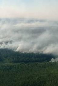 Дым от якутских пожаров накрыл часть Хабаровского края