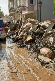 Восстановление пострадавших от наводнения районов на западе Германии может занять несколько лет