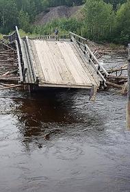 Паводок в Хабаровском крае повредил девять мостов