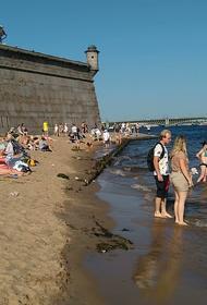 Новый температурный рекорд зафиксирован в Санкт Петербурге