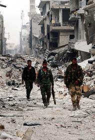 Военкор Сладков выложил видео уничтожения сирийских джихадистов российским боевым роботом «Соратник»