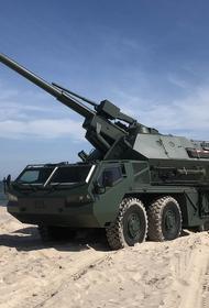 Чехия вооружит Украину артиллерийской установкой Dana-M2