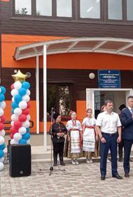 В станице Саратовской открылся малобюджетный спорткомплекс