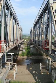 Из-за сильных дождей в Забайкалье обрушился железнодорожный мост