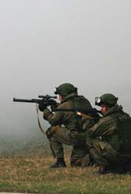 Разведчики ЗВО отрабатывают диверсионные действия недалеко от границы с Украиной