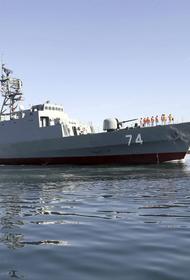 Иранский фрегат по пути в Санкт-Петербург заскочил в эстонские территориальные воды