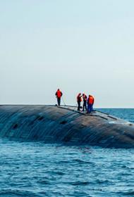 АПЛ «Казань» сразу же после парада ушла в Баренцево море на учения