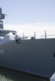 Корабли КФл РФ вышли в Каспийское море для обеспечения безопасности судоходства