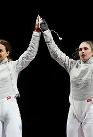 Саблистки- военнослужащие ВС РФ выиграли «золото» и «серебро» на Олимпиаде