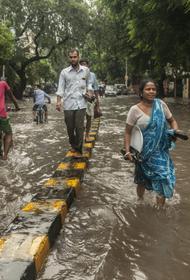 Муссонные дожди в Индии привели к человеческим жертвам