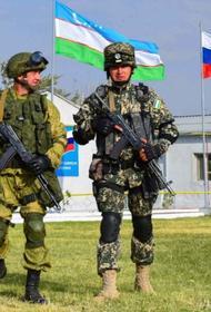 Войска РФ и Узбекистана отрабатывают оборону южных узбекских границ