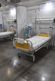В Астраханской области заявили о 90-процентной загруженности коечного фонда для больных COVID-19