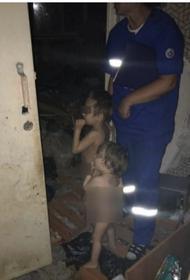 Детей-маугли нашли посреди горы мусора в Ульяновске