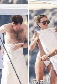 Модель Эрика Пелосини загорала топлес с мужем принцессы Евгении: она рассказала о скандальных фото