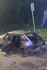В Новой Москве в ДТП погибла 16-летняя девушка, ехавшая за рулем легкового автомобиля с пассажирами
