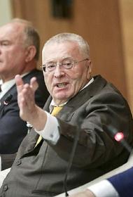 Жириновский предложил возбудить уголовное дело против азербайджанского дипломата после оскорблений россиян
