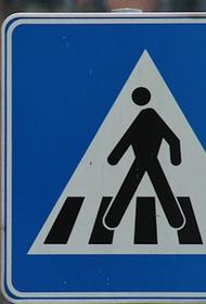 В Перми пешехода насмерть придавило упавшим после ДТП дорожным знаком