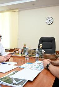 Алексей Текслер посетил Сосновский район