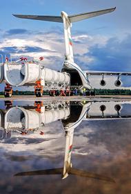 Момент падения опытного образца  военно-транспортного Ил-112В попал на видео