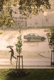 В Тюменской области прошел ливень с градом при температуре плюс 32 градуса