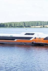 Головное судно «Метеор 120Р» спущено на воду в Нижегородской области