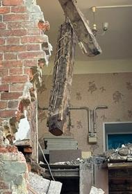 В Тамбове ночью обрушился жилой аварийный дом 1917 года постройки