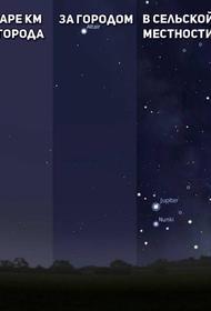 Число заповедников чистого звездного неба на Земле увеличивается
