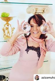 Певица Азиза впервые официально вышла замуж в возрасте 57 лет за 37-летнего итальянца