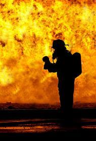 В Мытищах  во время детского праздника загорелся торговый центр